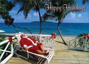Relaxed Santa